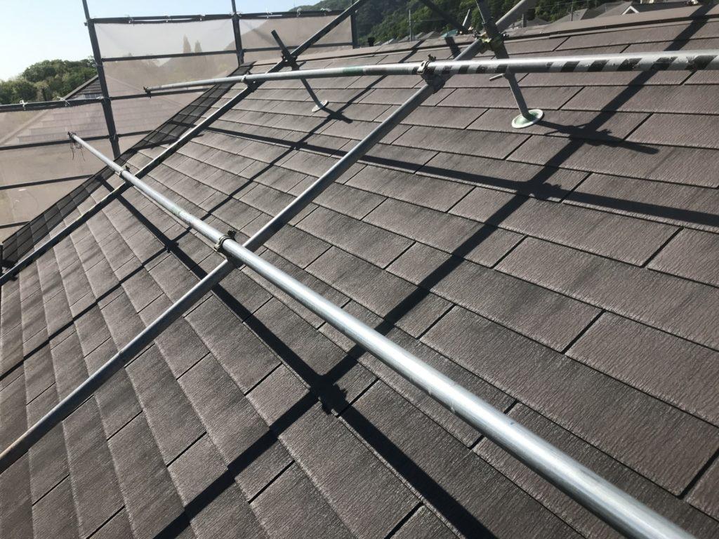 プロが行う雨の翌日の屋根塗装