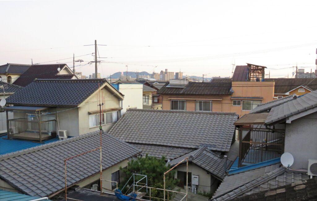 屋根 高圧洗浄